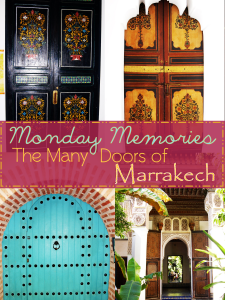 Many doors of Marrakech